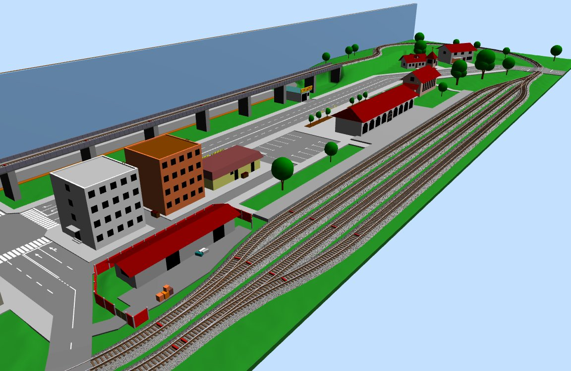 Freeware train layout editor with 3d preview page 1 n for 3d layout maker