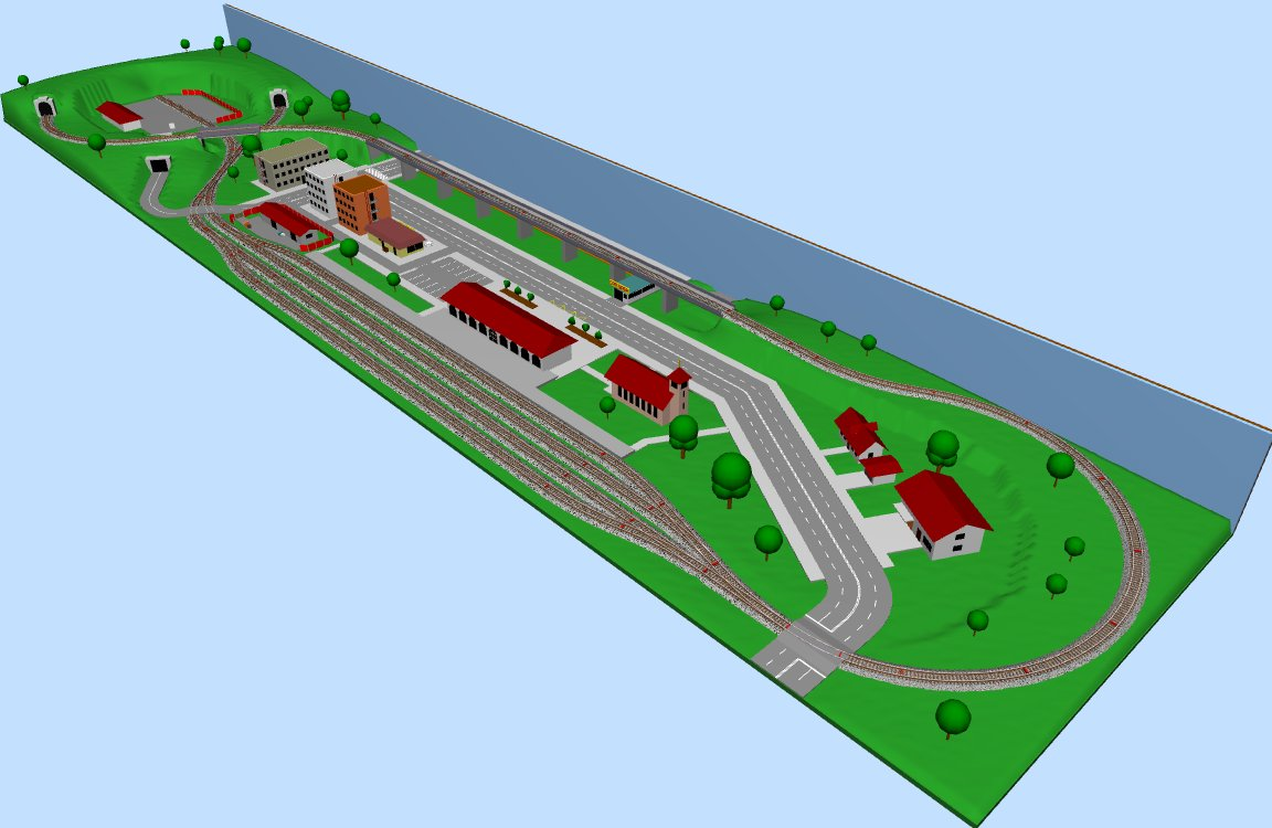 Side View in SCARM 3D Viewer | SCARM – The Railway Modeller's Blog