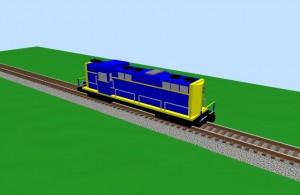 Santa Fe GP-9 - 3D