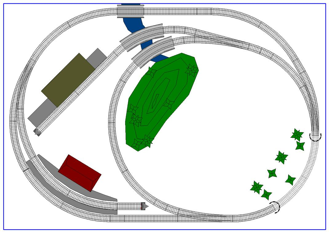 Model Train Track Plans Of Micro Sized Ho Scale Layouts