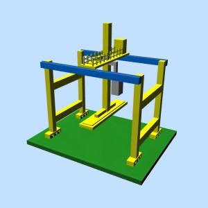Container crane 3D