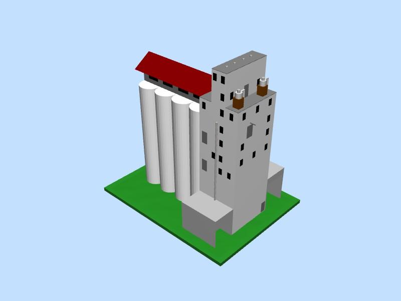 ADM Grain Elevator SCARM object