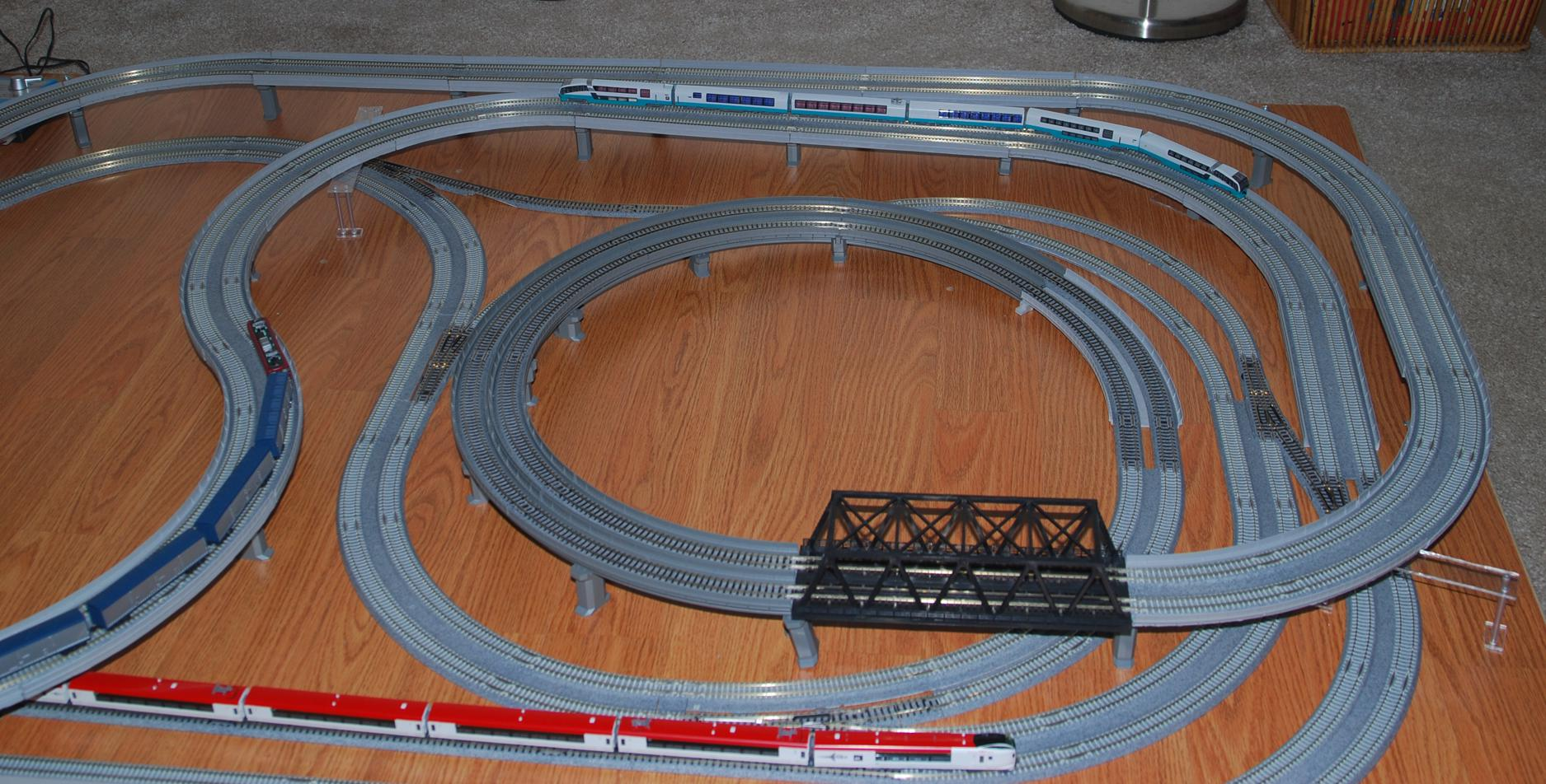 The real kato layout pic 1 scarm the railway modeller for N scale bedroom layout