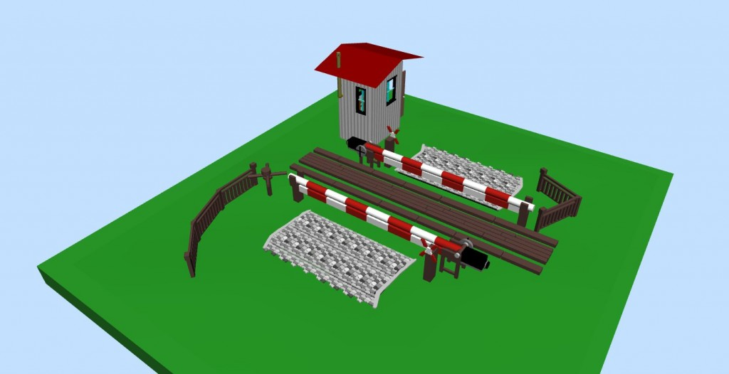 Guarded Level Crossing by Faller