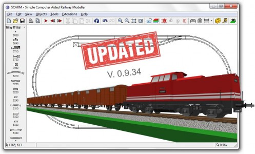 The Free Layout Design Software Scarm Now With Model Trains Simulator Model Railroad Hobbyist Magazine