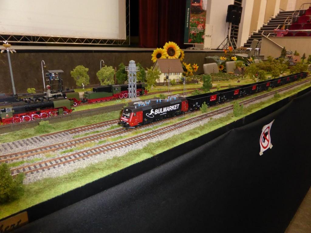 Bulmarket freight train