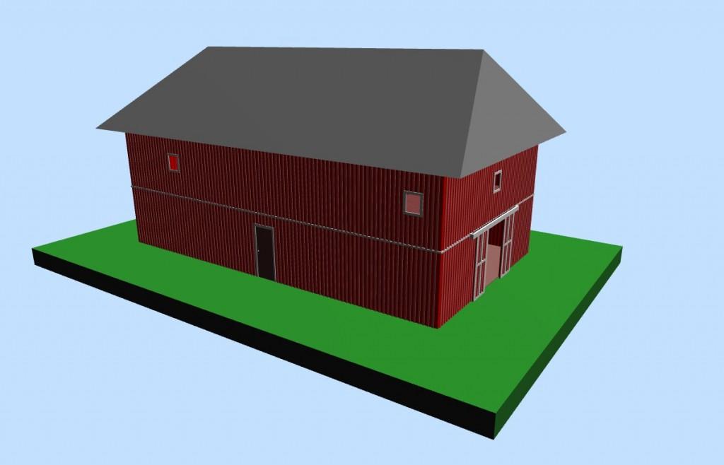 2-story Barn