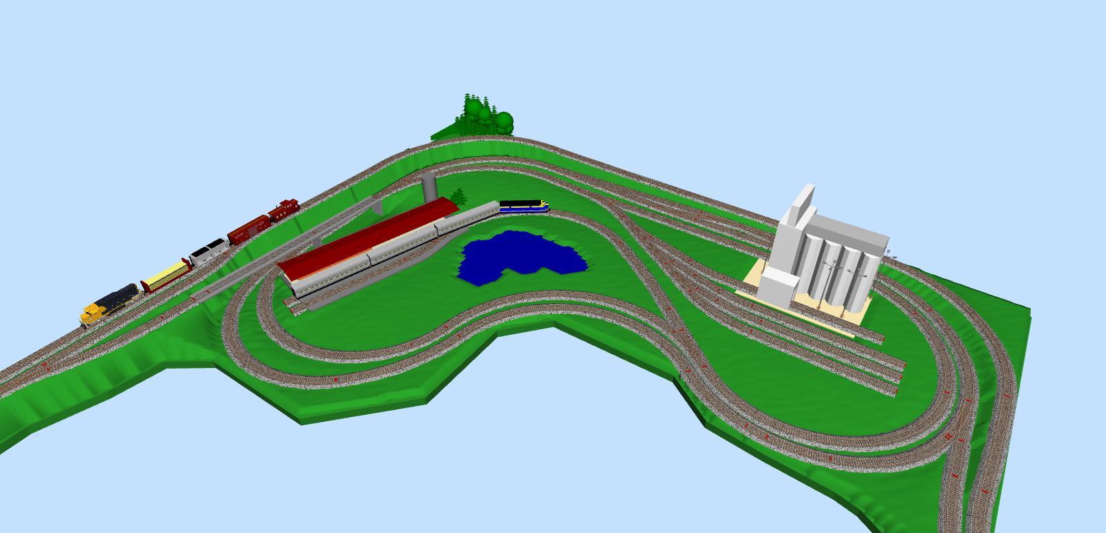 Model Train Layouts & Track Plans