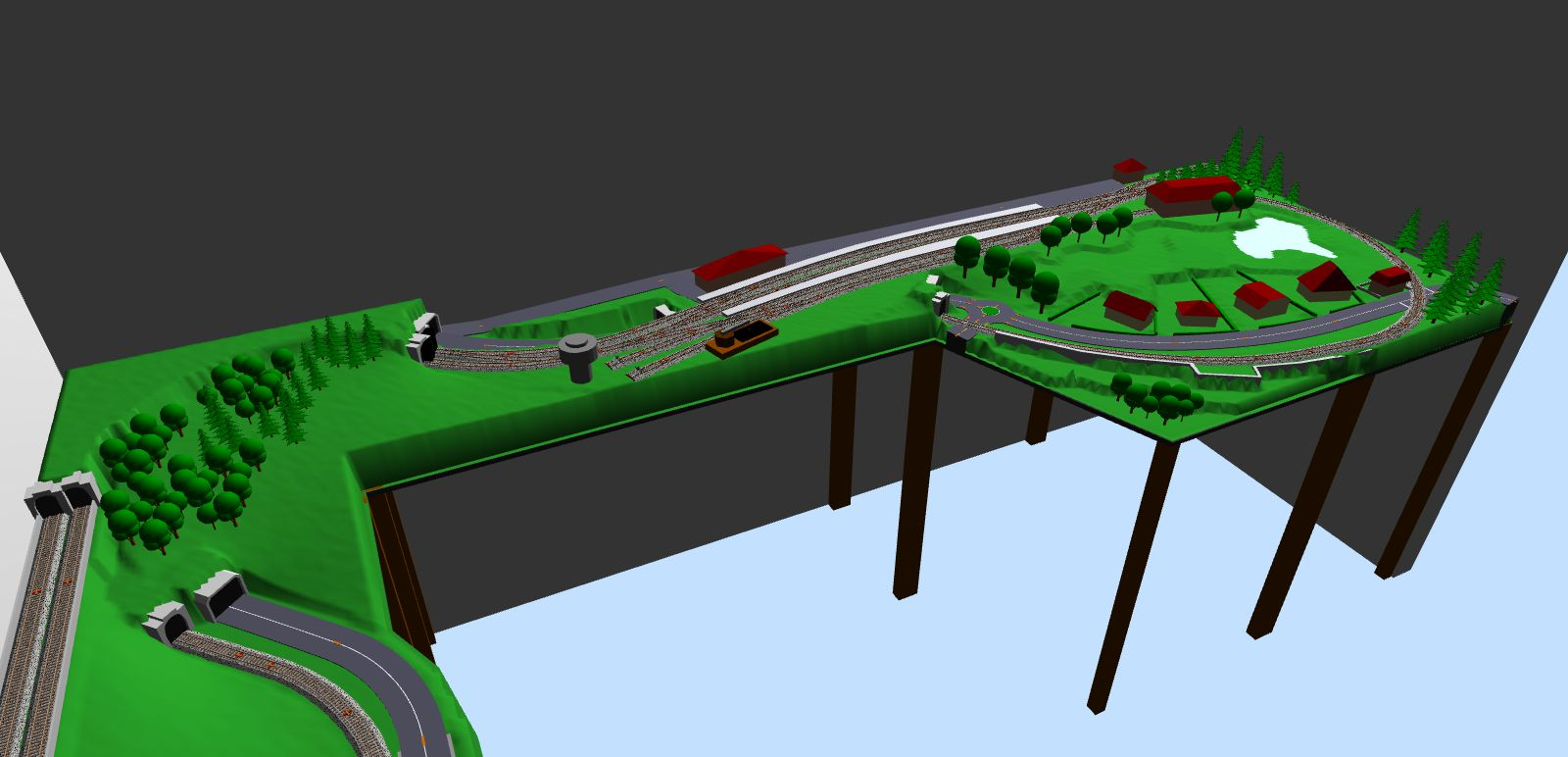 access model train track layout 2016