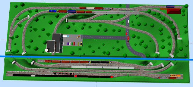 Jim's Layout Project In N Scale
