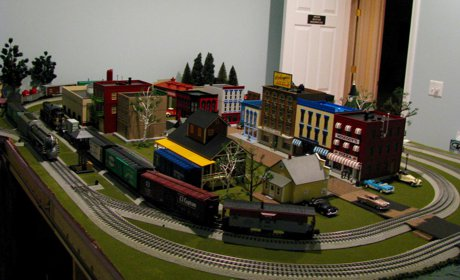 Joes O Gauge Layout Overview