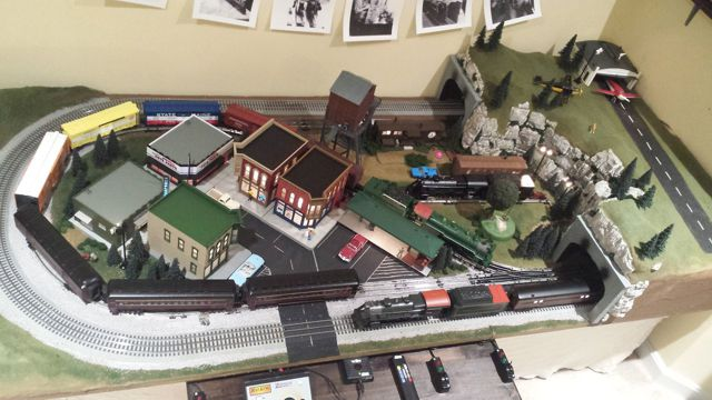 Lucasville O Gauge Train Layout Designed In Scarm