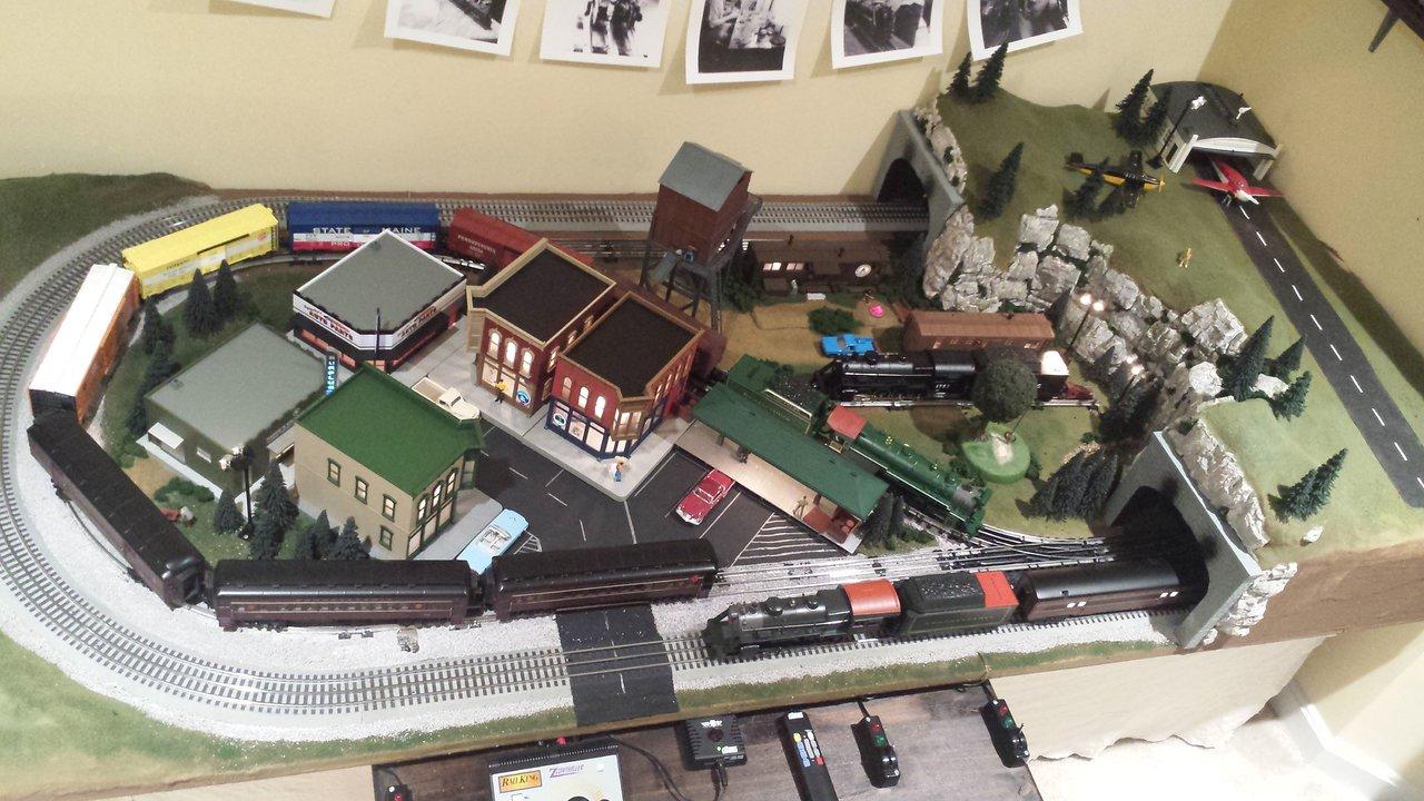 Lucasville O-gauge Train Layout
