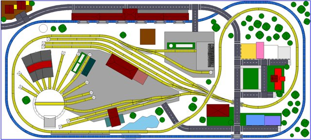 n scale 4x8 layout
