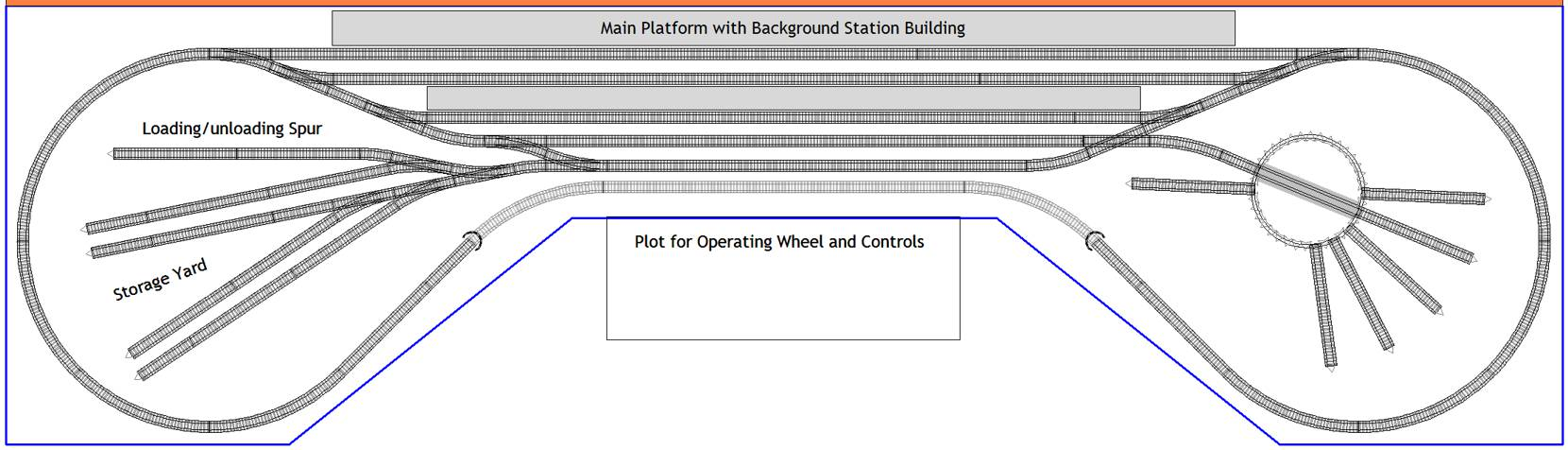 Peco Setrack Station Plan In N