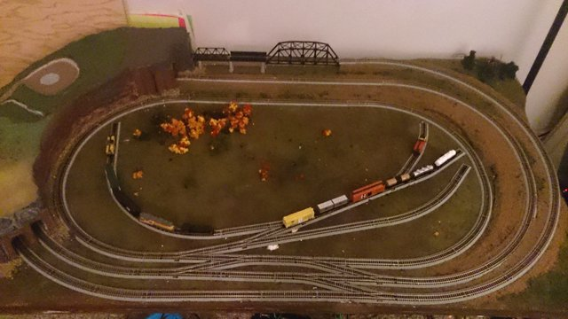 3' X 5' N-scale Layout Of Brian