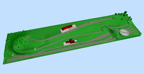 Жд макеты и схемы путей различные проекты, разработанные с scarm.