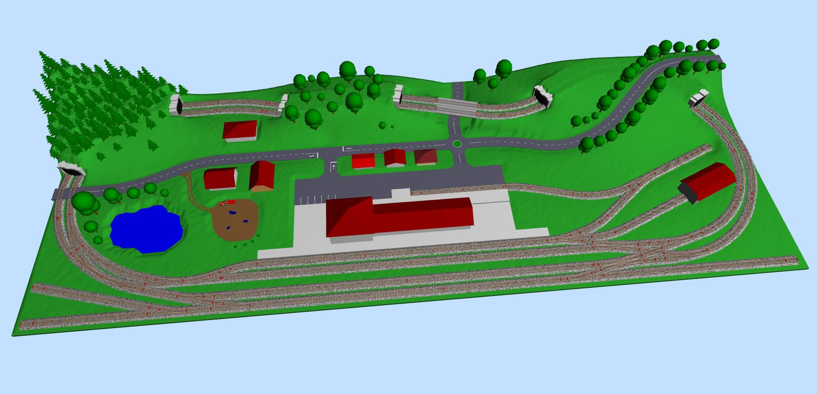Easy Home Layout Design Small Rural Layout In Tt Scale