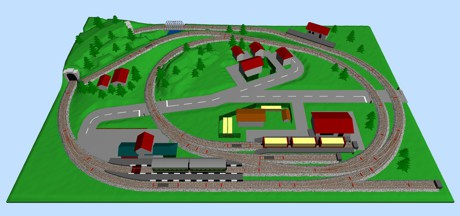 Lionel FasTrack Layouts