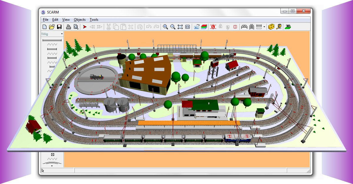 SCARM - The leading design software for model railroad layouts