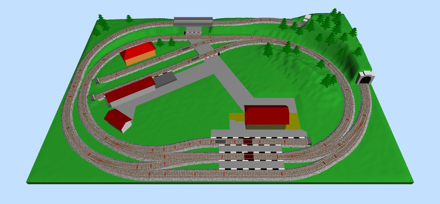 Ho Track Wiring Diagrams Building Online Resources Bachmann Dcc Switch Motor Images Layouts For Also Model Train Plans Of