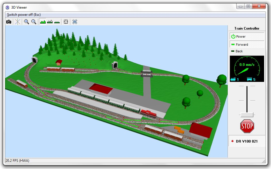 Scarm Model Trains Simulator Se