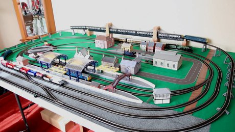 Model Train Layouts Track Plans With Hornby Tracks Various Projects Designed With Scarm Layout Software