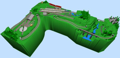Model Train Layouts Track Plans Various Projects Designed With Scarm Layout Software