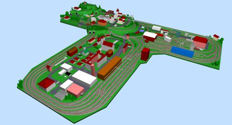Model train layouts track plans various projects for Design nachbau
