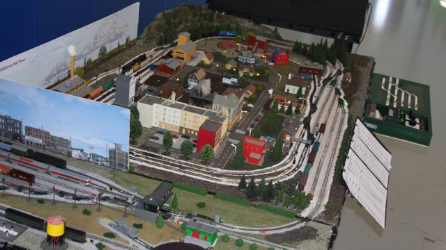 The New Middletown Model Railroad