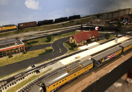 Model Train Layouts & Track Plans - Various projects